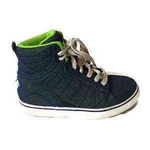 Osiris Hi-Top Canvas Skateboard Shoes Boys Size 13